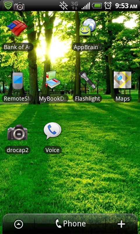 how to open a voicemail message android