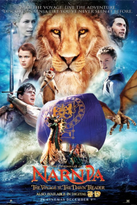 Narnia: Voyage Of The Dawn Treader Poster