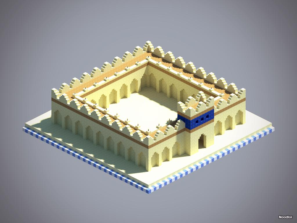 Minecraft: Sand Castle