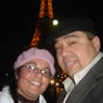 Photo of Litza and Angel in Paris