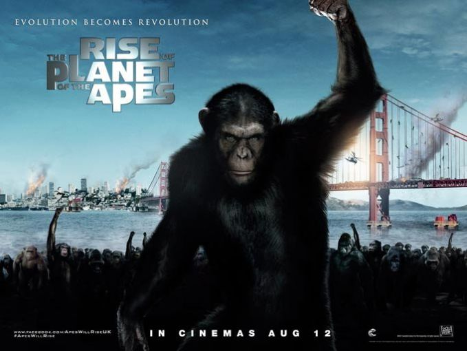 Movie Review – Rise of the Planet of the Apes